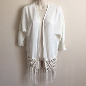 Charlotte Russe Sexy Fringe Coverup S